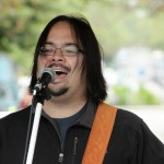 Mike Chang at the Commercial Street Car Free Festival