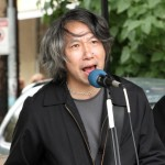 Tim Chan at the Commercial Street Car Free Festival
