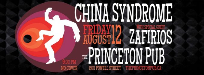 Back at the Princeton Pub this Fri, Aug 12!