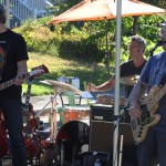 China Syndrome performing at a Vancouver Block Party