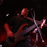 Mike Chang playing a Ken McBridge bass a The Railway Club