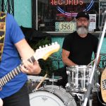 China Syndrome performing in front of Neptoon Records, June 19/16, Main Street Car Free Day Event, Vancouver