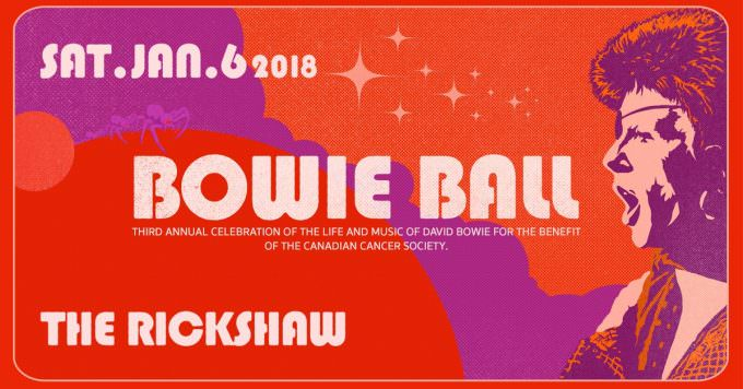 Happy new year + Bowie Ball 2018!