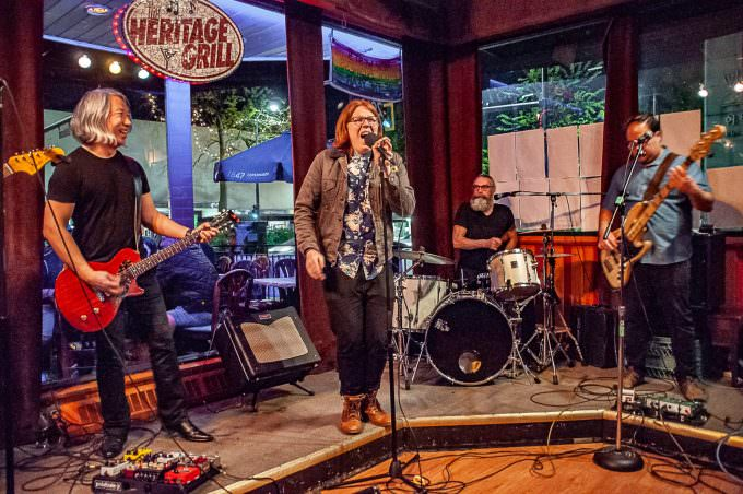 China Syndrome with special guest, Finn Leahy, at the Heritage Grill, May 6/18, New Westminster
