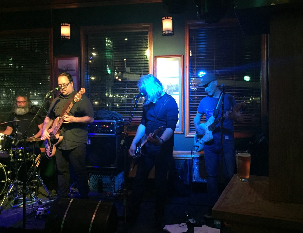 China Syndrome performing at the Princeton Pub, Apr 6/19, Vancouver